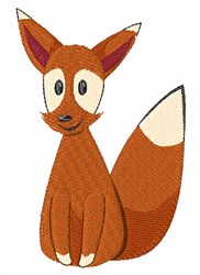 Fox Animal embroidery design