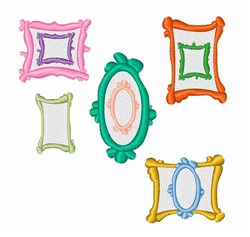 Picture Frames embroidery design