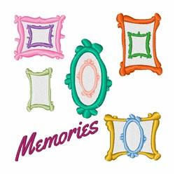 Memories Frames embroidery design