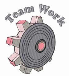 Team Work embroidery design