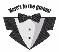 GroomTux embroidery design