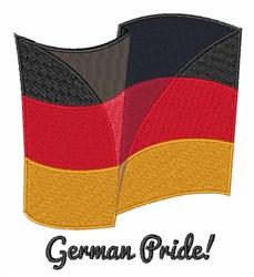 German Pride embroidery design