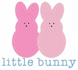 Little Bunny embroidery design