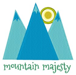 Mountain Majesty embroidery design