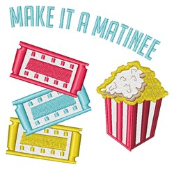 A Matinee embroidery design