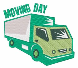 Moving Day embroidery design