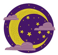 Sky Scene embroidery design