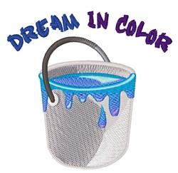 Dream In Color embroidery design