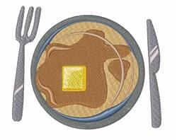 Pancake Breakfast embroidery design