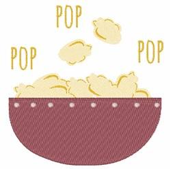 Pop Pop embroidery design