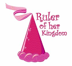 Her Kingdom embroidery design