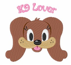 K9 Lover embroidery design