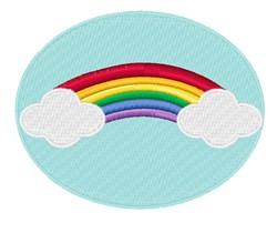 Rainbow embroidery design