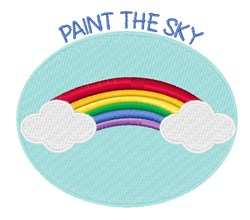 Paint The Sky embroidery design