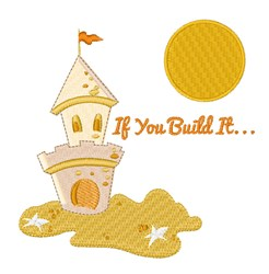 If You Build It embroidery design