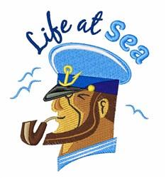 Life At Sea embroidery design