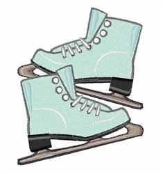ice Skates embroidery design