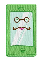 Smart Phone embroidery design