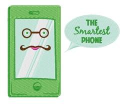 Smartest Phone embroidery design