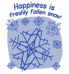 Fresh Snow embroidery design