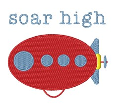 Soar High embroidery design