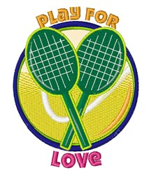 Play For Love embroidery design
