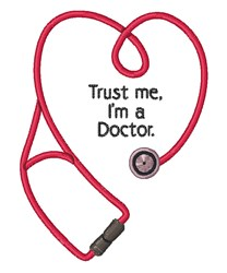 Im A Doctor embroidery design