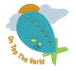 Top The World embroidery design