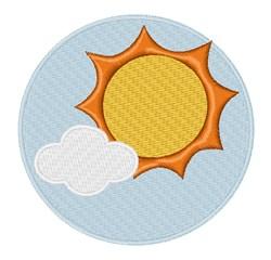 Sun Shine embroidery design