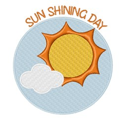 Sun Shining Day embroidery design