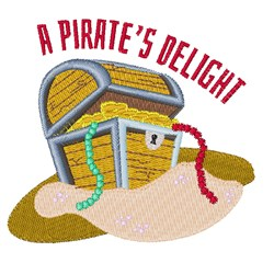 Pirates Delight embroidery design