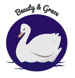 Beauty & Grace embroidery design