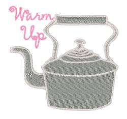Warm Up embroidery design