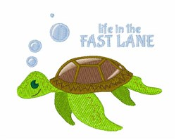 Fast Lane embroidery design