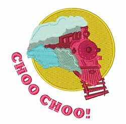 Choo Choo embroidery design