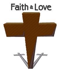 Faith & Love embroidery design