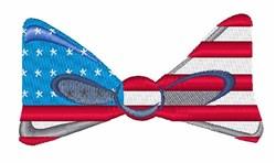USA Flag Tie embroidery design