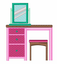 Dressing Table embroidery design