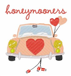 Honeymooners embroidery design