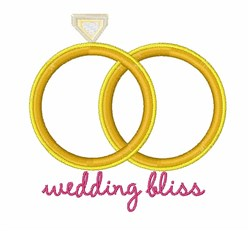 Wedding Bliss embroidery design