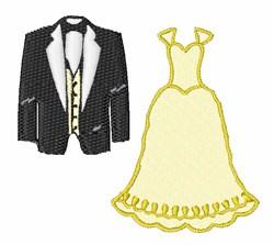 Wedding Clothes embroidery design