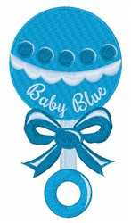 Baby Blue embroidery design
