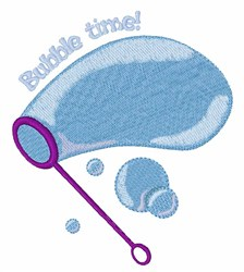 Bubble Time embroidery design