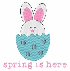 Spring Is Here embroidery design