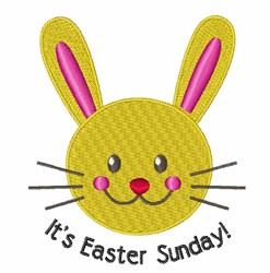 Its Easter embroidery design