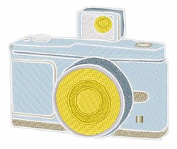 Flash Camera embroidery design