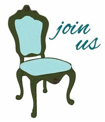 Join Us embroidery design