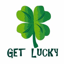 Get Lucky embroidery design