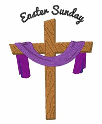 Easter Sunday embroidery design