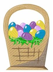 Egg Basket embroidery design